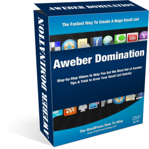 Aweber Domination - Aweber Video Tutorial