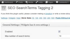 SEO SearchTerms Tagging 2 - WordPress Plugin