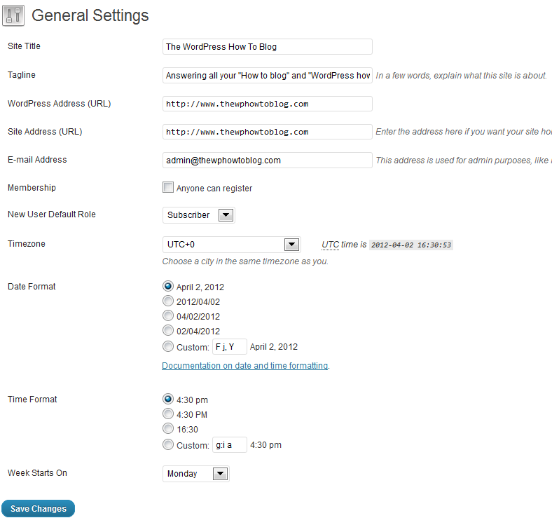 Enabling New Member Registration in WordPress