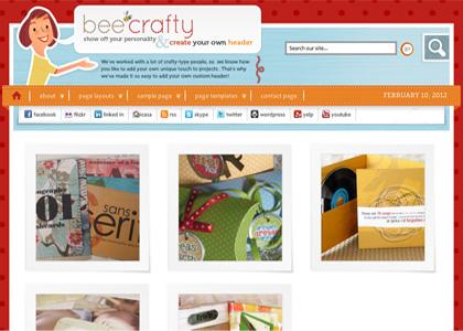 Genesis Bee Crafty Theme