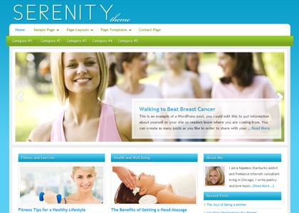 Genesis Serenity Theme