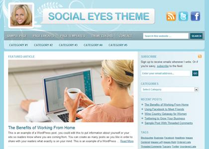 Genesis Social Eyes Theme