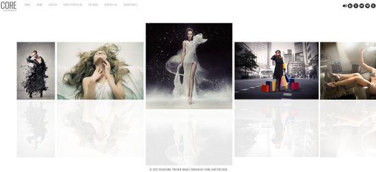 Core - Premium WordPress Photography Theme