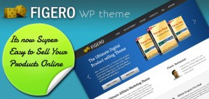 Figero WordPress Theme for E-Commerce and PayPal Integration