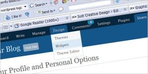 Ozh Admin Drop Down Menu WordPress Plugin