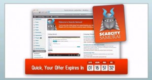 Scarcity Samurai Review - EASILY Double and Triple Your Profits Using Existing Traffic